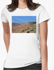 South Yorkshire Landscape Womens Fitted T-Shirt