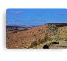South Yorkshire Landscape Canvas Print