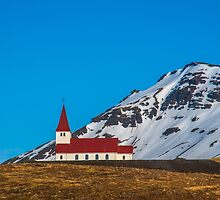 Vik Church Iceland by Chris Thaxter