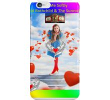 Kiss me Softly  - David Rothchild & The Sunrockers iPhone Case/Skin
