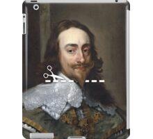 Cut Here - Charles I iPad Case/Skin