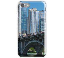Lamar Blvd Bridge  iPhone Case/Skin
