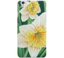 Spring Daffodils Painting iPhone Case/Skin