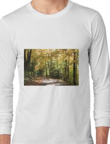 Fall country road. Long Sleeve T-Shirt