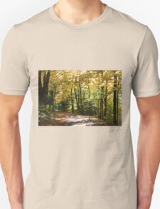 Fall country road. T-Shirt