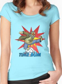 Time Bum Women's Fitted Scoop T-Shirt