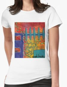 Winding Vines Womens Fitted T-Shirt