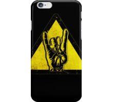Heavy metal warning iPhone Case/Skin