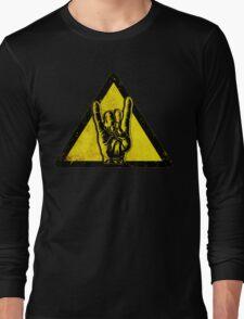 Heavy metal warning Long Sleeve T-Shirt