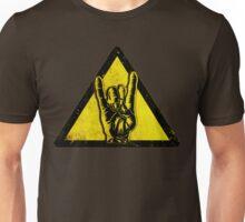 Heavy metal warning Unisex T-Shirt