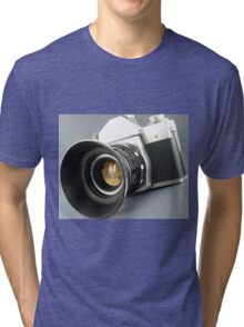 Photographic camera Tri-blend T-Shirt