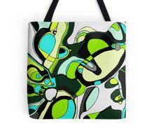 Retro Green Tote Bag