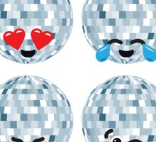Emoji Building - Discoballs Sticker