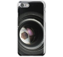 Camera in action. iPhone Case/Skin