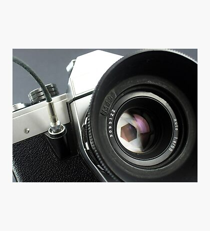 Camera in action. Photographic Print