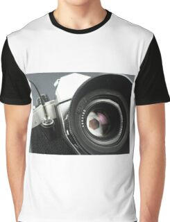 Camera in action. Graphic T-Shirt