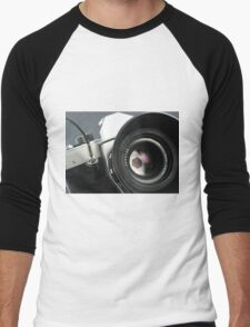 Camera in action. Men's Baseball ¾ T-Shirt