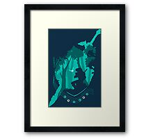 Legend of Zelda - Link's Ocarina Framed Print
