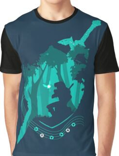 Legend of Zelda - Link's Ocarina Graphic T-Shirt