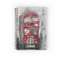 London Bus Spiral Notebook