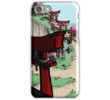 Blossom Village iPhone Case/Skin