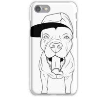 dogs, cute puppy pitbull iPhone Case/Skin