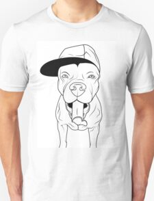 dogs, cute puppy pitbull Unisex T-Shirt