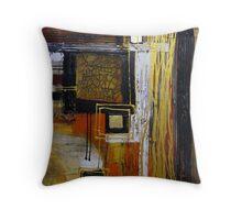 Golden Indulgence Throw Pillow