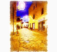 Arzachena: night road Unisex T-Shirt