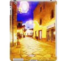 Arzachena: night road iPad Case/Skin