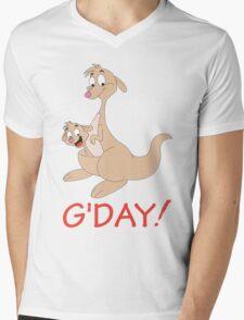 G' DAY Mens V-Neck T-Shirt