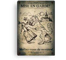 Loup Garou Canvas Print