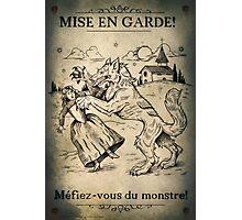 Loup Garou Photographic Print