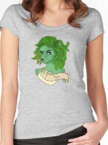 gorgon grump Women's Fitted Scoop T-Shirt