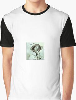 OBAMA BLOWS SMOKE Graphic T-Shirt