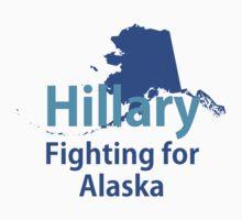 Alaska for Hillary Kids Tee