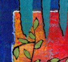 Winding Vines III Sticker