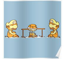 Mario & Lugi - Koopa Troopa Shell Poster