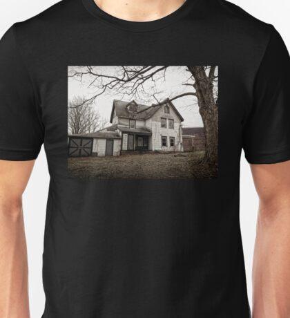Haunted Farmhouse Unisex T-Shirt