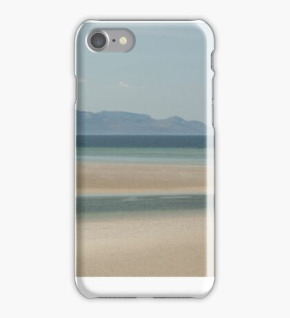 The Silver Sands of Morar iPhone Case/Skin