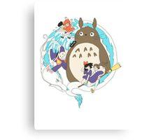 Miyazaki Madness Canvas Print