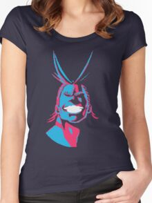 all might Women's Fitted Scoop T-Shirt