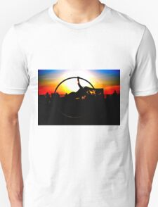 Sunset Celebration Russell Harris Unisex T-Shirt