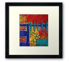Winding Vines IV Framed Print