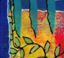 Winding Vines IV Sticker
