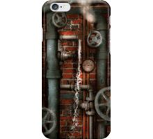 Steampunk - Plumbing - Pipes and Valves iPhone Case/Skin