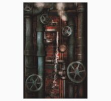 Steampunk - Plumbing - Pipes and Valves Baby Tee