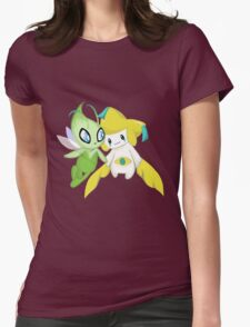 Mythical Friends  Womens Fitted T-Shirt