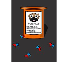 Pugs but drugs Photographic Print
