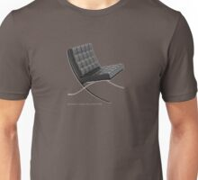 Barcelona chair Unisex T-Shirt